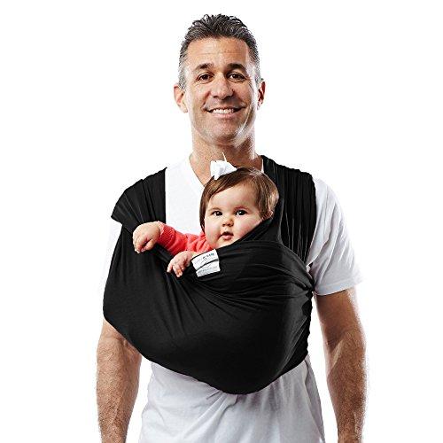 Baby KTan Baby Cotton Carrier Medium, Black